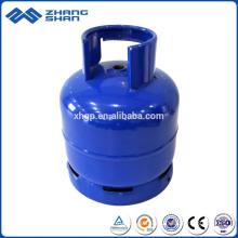 Usine de bouteilles de gaz LPG de fabrication de marque célèbre de la Chine 3kg