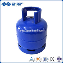 Portable Outdoor Use Small Welding Steel 3kg Lpg Camping Gas Cylinder