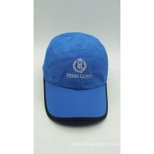 Outdoor Promotional Blue Embroidery Baseball Golf Cap (ACEK0052)