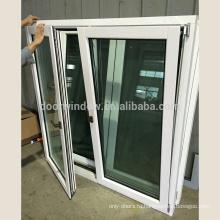 Американский дизайн современный тройной стеклопакет стиль створки окна для строительства