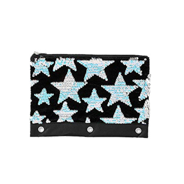 SEQUIN STAR PENCIL CASE-0
