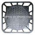 Square ductile cast iron Manhole Covers
