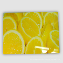 FDA Approval Tempered Chopping Cutting Board with 4c Printing Decal