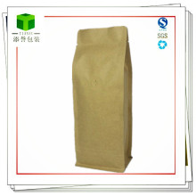 Sacs à café en papier Kraft / Sac à café Kraft doublé en feuille