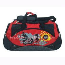 Popular Polyester Sports Travel Gym Fitness Shoulder Duffle Bag