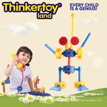 Дошкольная образовательная пластиковая игрушка для комнатных роботов
