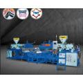 Machine de moulage supérieure en PVC / TPR trois couleurs