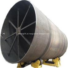 Forno rotativo para a planta de produção de cimento Portland