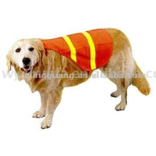Chaleco de seguridad de alta visibilidad para perros