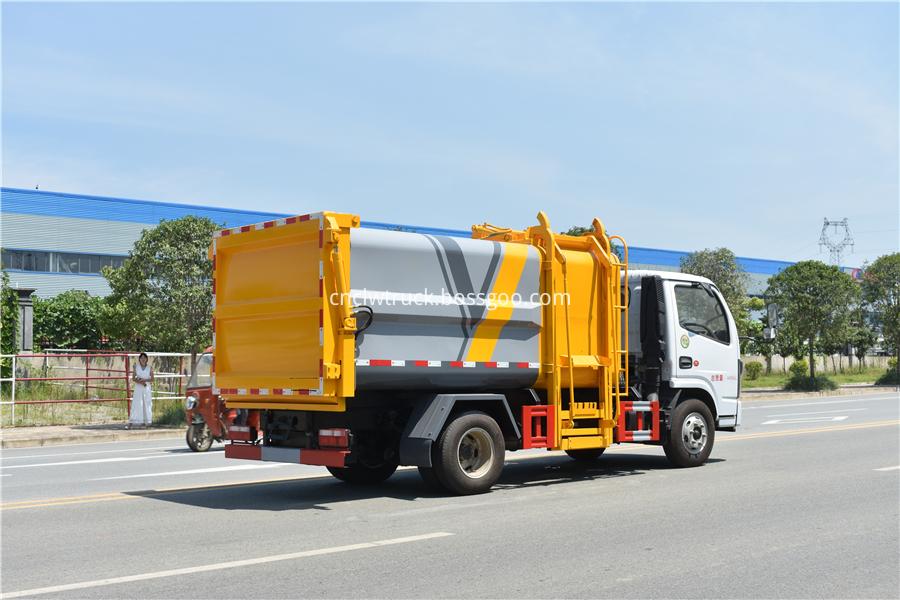 kitchen waste truck for sale
