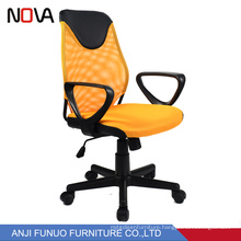 China Office Furniture Wholesale Orange Mesh Revolving Office Chairs