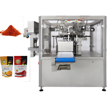 Machine à sachets Doypack en poudre d'épices