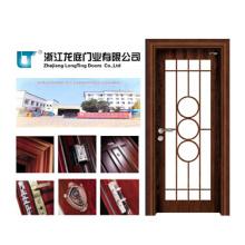 Puerta de cristal de la sala de MDF de madera (LTS-201)