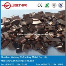 W85cu15 de metais contato elétrico de tungstênio com ISO 9001 de Zhuzhou Jiabang