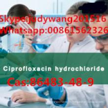 Clorhidrato de ciprofloxacina de alta pureza al 99,6% (CAS: 86483-48-9)