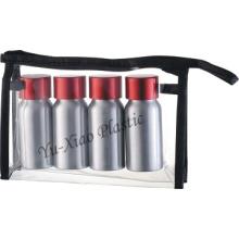 Aluminium-Flaschen-Reise-Set