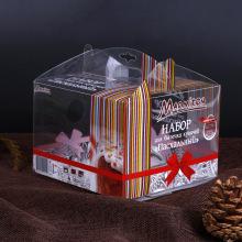Пластиковая коробка для тортов на день рождения (коробка для пирога из полиэтилентерефталата)