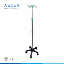 AG-IVP003 Height adjust with five wheels movable medical IV pole