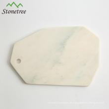 Käseplatte aus Naturmarmor / Schneidebrett aus Marmor / Serviertafel aus Marmor