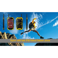 Stylish solide Look IP68 Robustes Outdoor-Handy