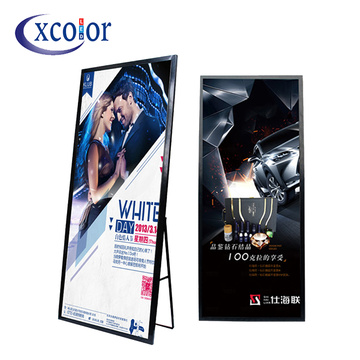 Specchio Super sottile P3 Video Advertising Led Machine