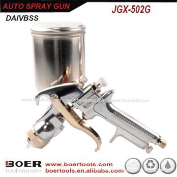 Pistolet de peinture de voiture de gravité 502G