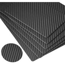 Service de découpe CNC personnalisé Feuilles de fibre de carbone 400x500mm