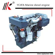 Motor diesel da propulsão marinha chinesa de Yuchai 250HP com caixa de engrenagens YC6A250-C20