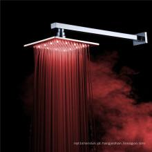 Torneira do chuveiro do banheiro do diodo emissor de luz de 8 polegadas