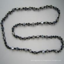 Китай Оптовая Горячие новые Shell & Crystal ожерелье на 2015 год