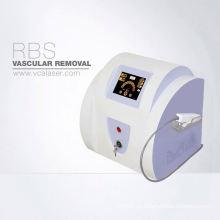 El spa profesional vendedor más caliente, clínica, máquina de eliminación vascular portátil del uso en el hogar del salón de belleza