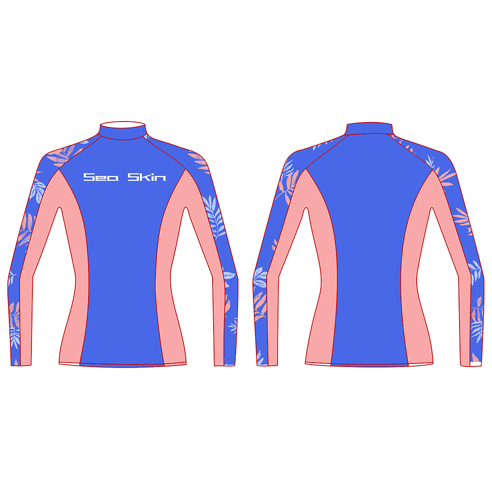 Seaskin Women Long Sleeve Rashguard 11
