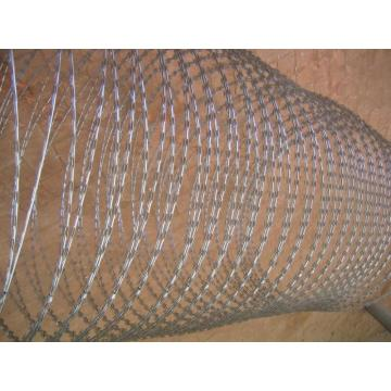 Berkualiti tinggi Hot Galvanized Razor Barbed Wire Concertina