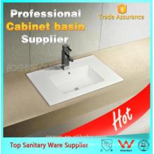 Chine fabrication en céramique salle de bains unité de bassin