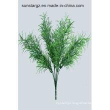UV Resistant Podocarpus Grass Bush Fake Flower Artificial Plant for Home Garden Decoration (48534)