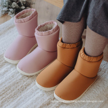 Warm Waterproof Thick Fur Winter Boots