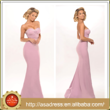 PS-02 Sweet Sexy Strapless Sweetheart Bridal Wedding Gown 2016 Full Length Low Back Stain Long Light Pink Prom Dress Light Blue