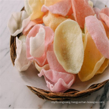 New coming high quality natural colour white prawn cracker