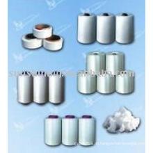 Garn, Faden und Faser aus Viskose, Polyester, Nylon6 und Nylon 66, Acryl, Spandex, PP, Baumwolle, Milch, Bambus, Sojabohne, PLA