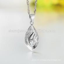 2016 Самое последнее ожерелье падения способа ожерелья способа серебряное длиннее цепное для оптовой продажи SCR007 повелительниц