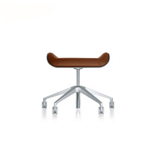 Interstuhl Silver Conference Stool Chair