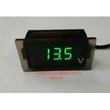 New Green Digital Voltmeter