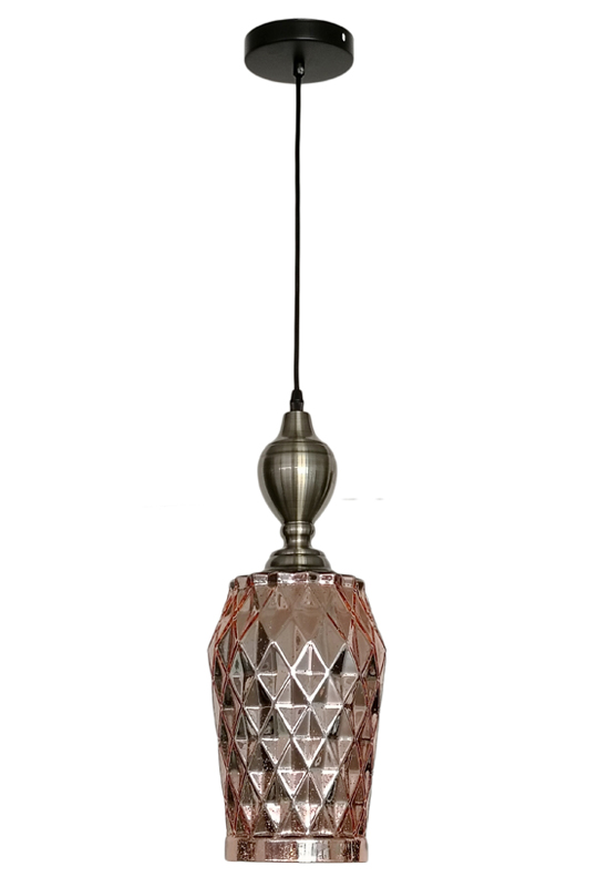Rose Gold Pendant Lamp Small Size