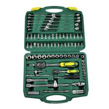 """78PCS 1/2 """"1/4"""" Socket Set Fabricante para o reparo de automóveis"""