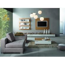 Italien moderne meubles en bois solide bois Meuble TV (MZ-L0301)