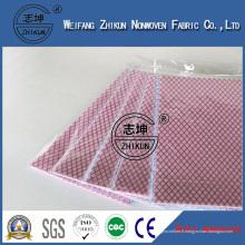 Tissu hydrophile de couleur pour le tissu non-tissé de Spunlace de chiffon humide