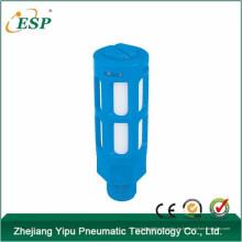 silenciador de plástico