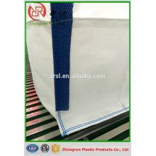 Buena calidad 100 * 100 * 145 cm blanco 1000 kg Bulka bolsa de pie