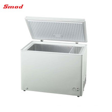 congelador de helados portátil superior congelador de arcón abierto con ruedas