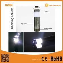 S280 3AAA fonte de bateria seca camping luz pequena lanterna de camping LED